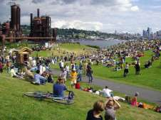 Haag; GasWorks Park; Seattle; WA courtesy Richard Haag Associate